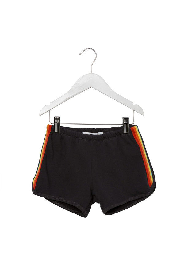 RAINBOW KIDS SHORT VINTAGE BLACK - Spiritual Gangster