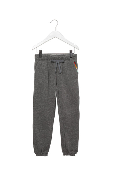 KIDS RAINBOW STITCH SWEATPANT HEATHER GREY - Spiritual Gangster