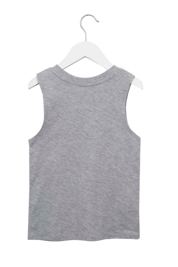 DREAMER KIDS TANK HEATHER GREY - Spiritual Gangster