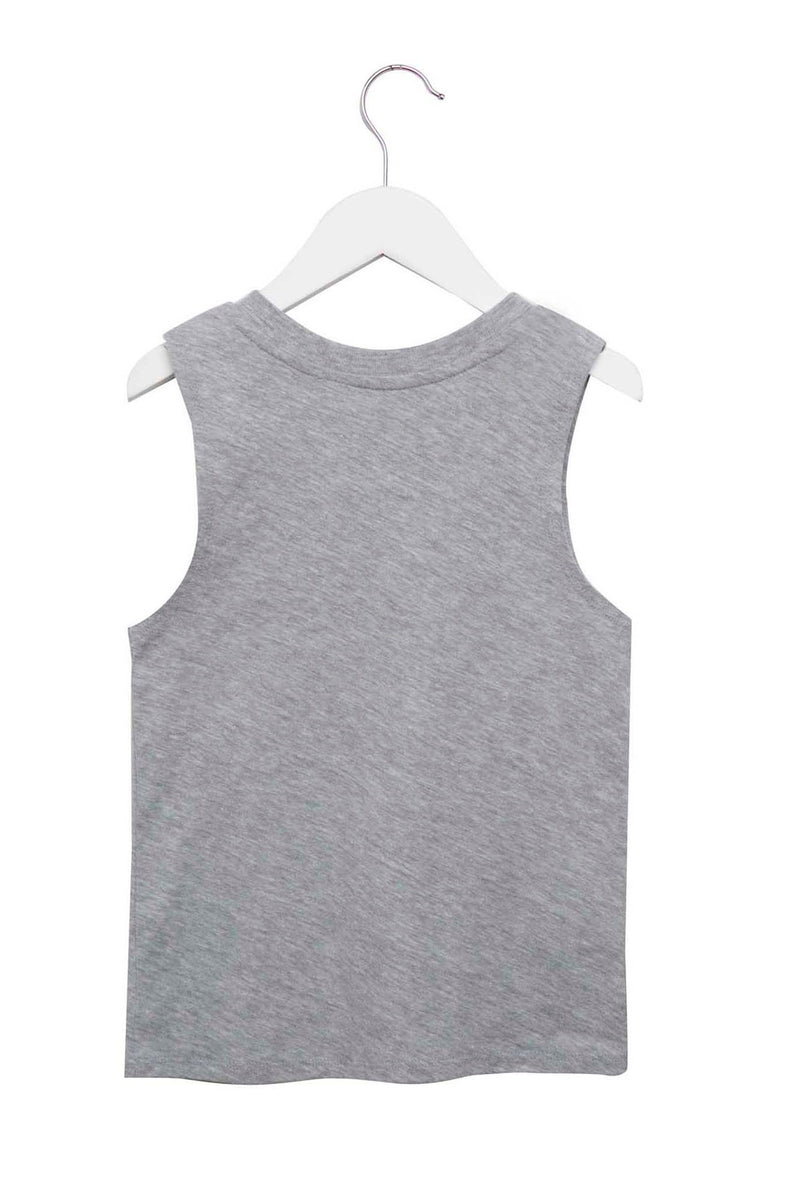 Dreamer Kids Tank Heather Grey