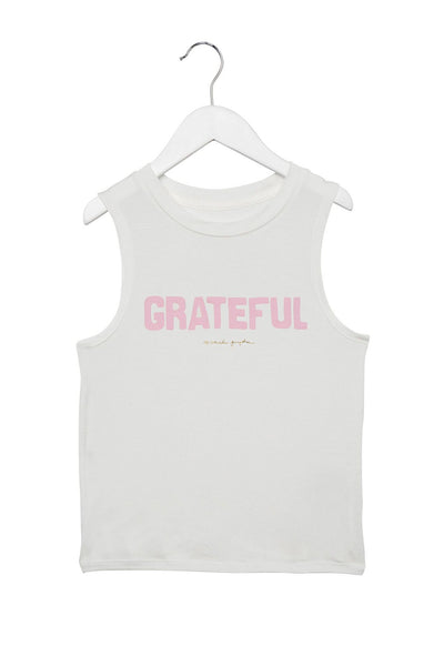 GRATEFUL KIDS MUSCLE TANK STARDUST - Spiritual Gangster