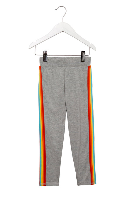 a5601a372e0f HUMBLE WARRIOR KIDS TANK. RAINBOW GIRLS ACTIVE LEGGING HEATHER GREY