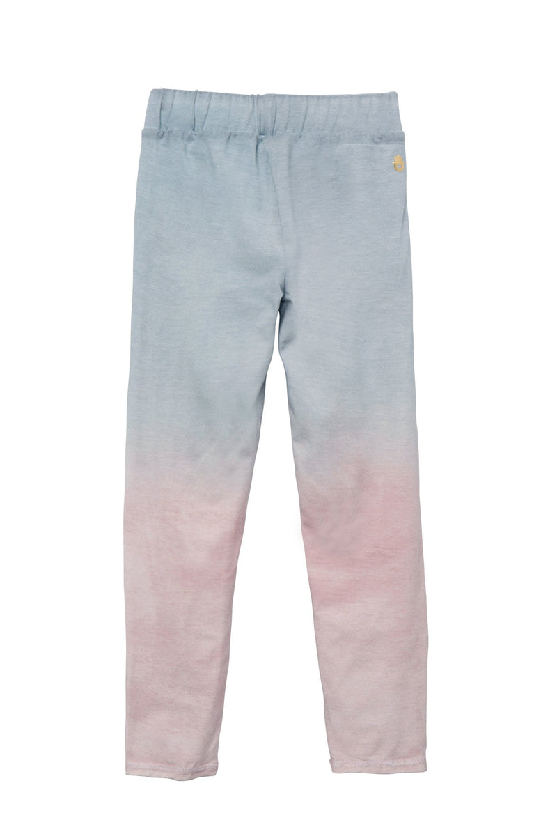 SUNSET OMBRE COTTON KIDS LEGGING SUNSET