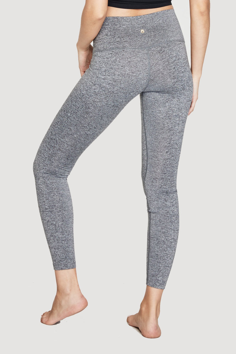 SG VARSITY 7/8 HIGH VIBE LEGGING HEATHER GREY