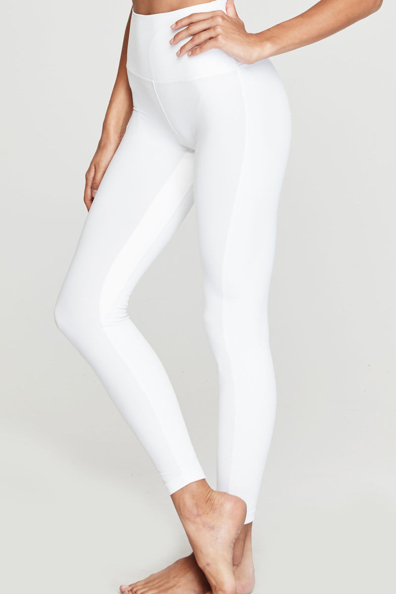 7/8 HIGH VIBE LEGGING WHITE