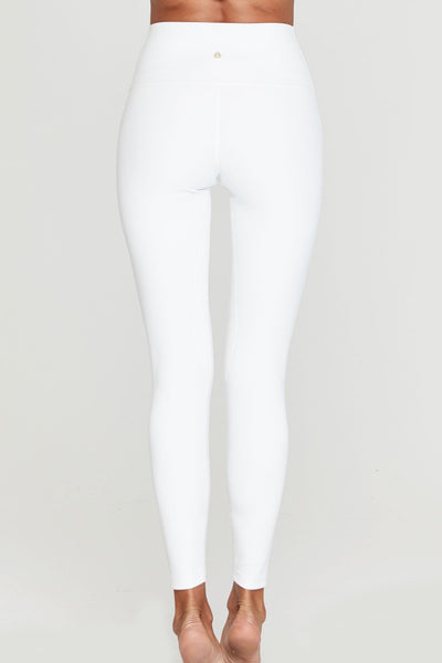 7/8 HIGH VIBE LEGGING WHITE - Spiritual Gangster