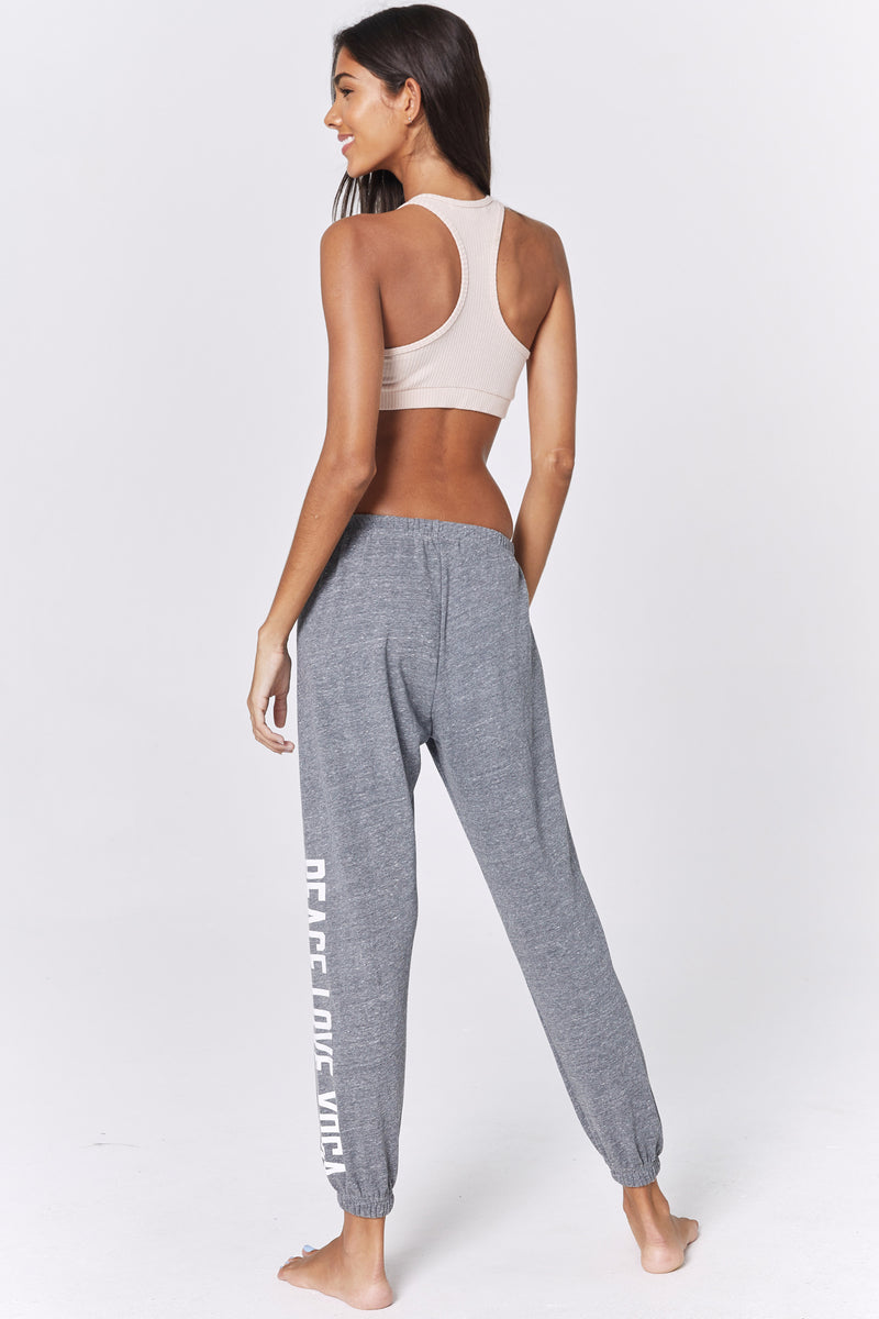 PEACE LOVE YOGA PERFECT SWEATPANT