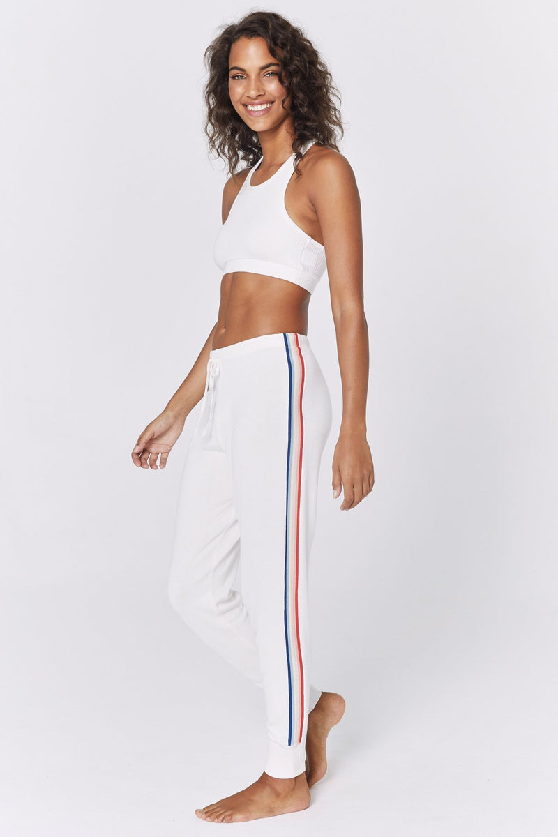 MADELEINE THOMPSON X SG STRIPE KNIT JOGGER