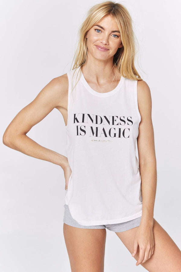 KINDNESS IS MAGIC MUSCLE TANK