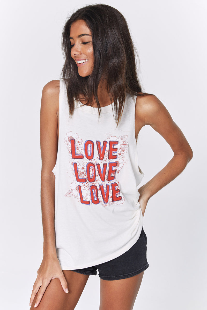 LOVE GIGI MUSCLE TANK