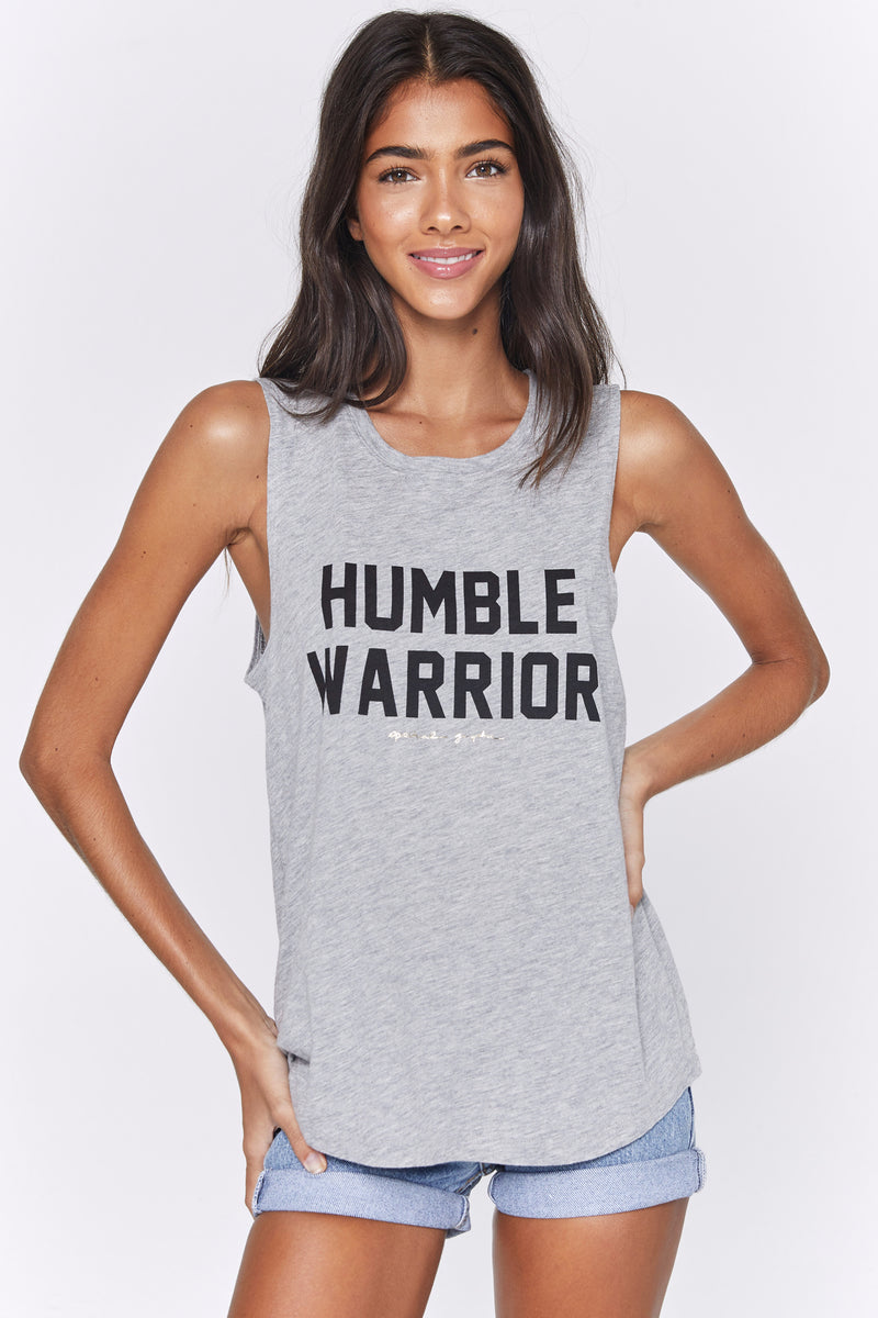 HUMBLE WARRIOR MUSCLE TANK
