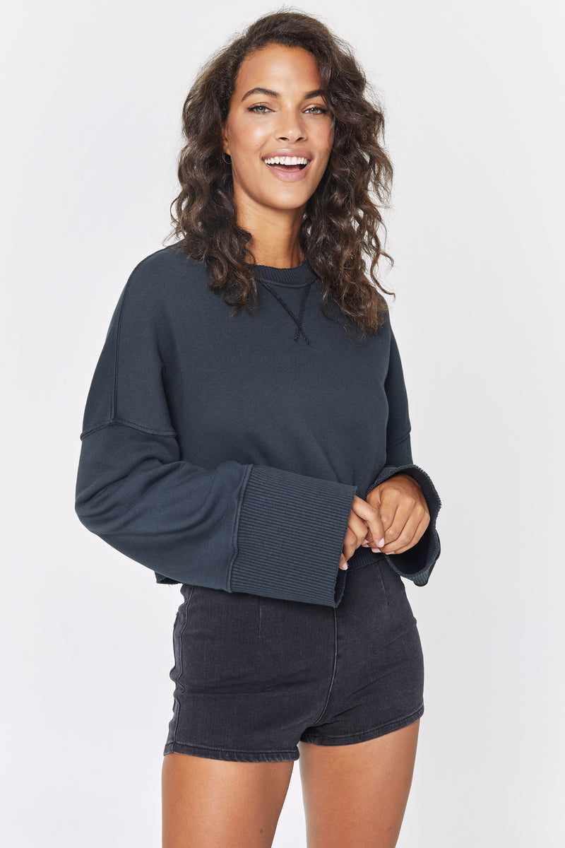 NADIA CROPPED SWEATSHIRT