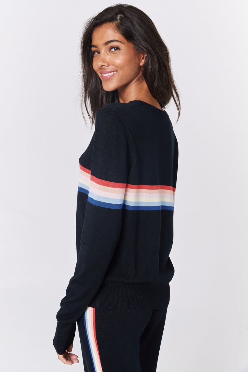 MADELEINE THOMPSON X SG STRIPED SWEATER