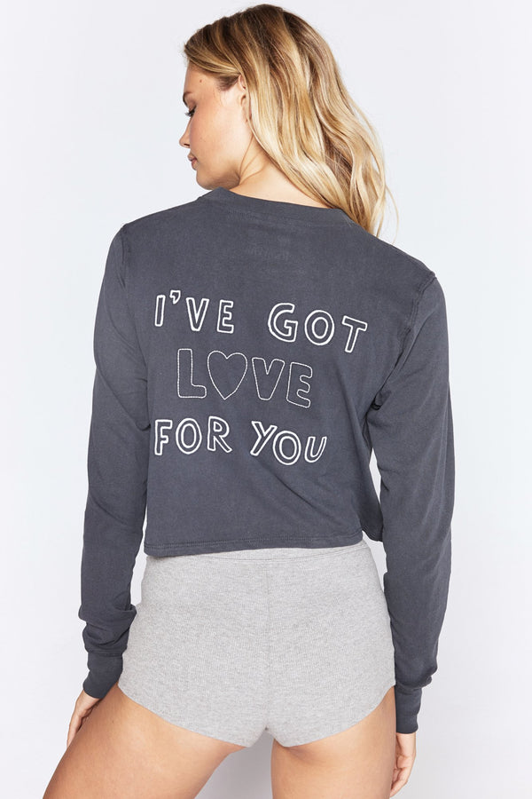 LOVE FOR YOU FIONA LONG SLEEVE TEE - Spiritual Gangster