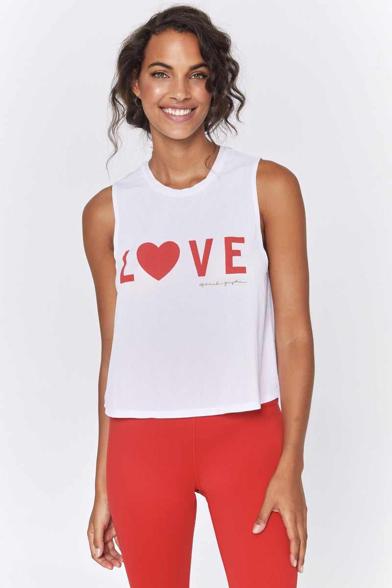 LOVE ACTIVE CROP TANK