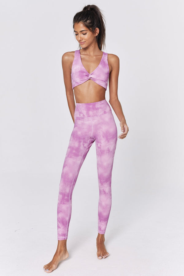 TIE DYE HIGH WAIST 7/8 LEGGING