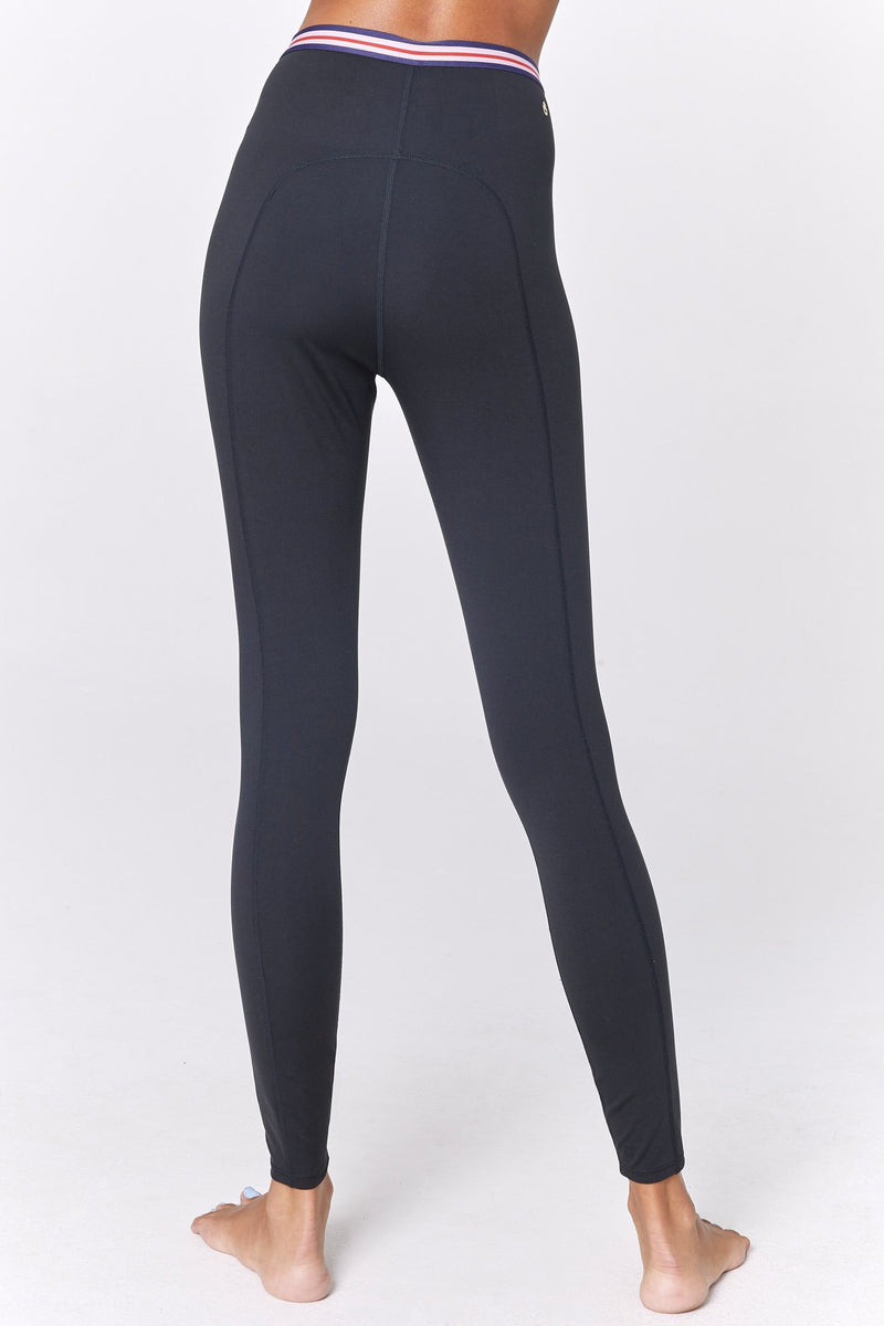 STRIPED WAIST COMPRESSIVE ACTIVE TIGHT
