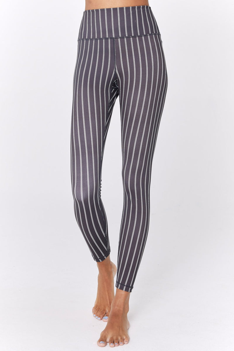 PINSTRIPE HIGH WAIST 7/8 LEGGING