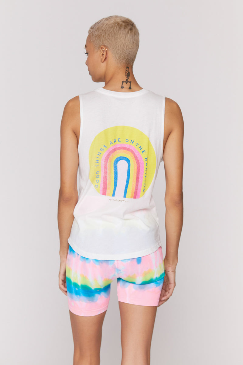 Good Things on the Horizon Muscle Tank