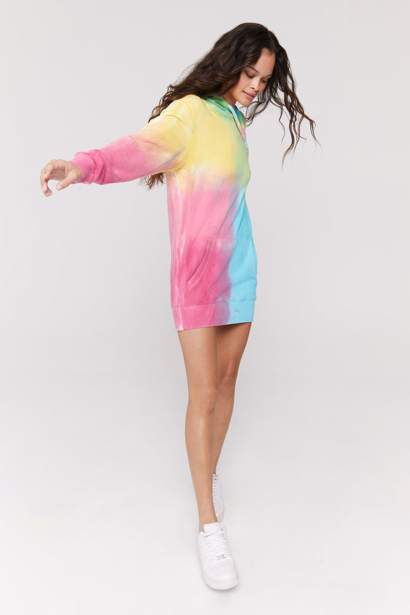 Happiness Hoodie Dress