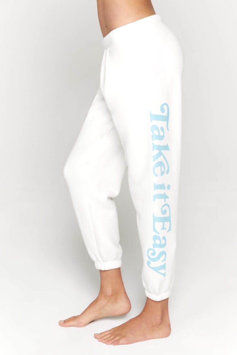 EASY PERFECT TERRY SWEATPANT