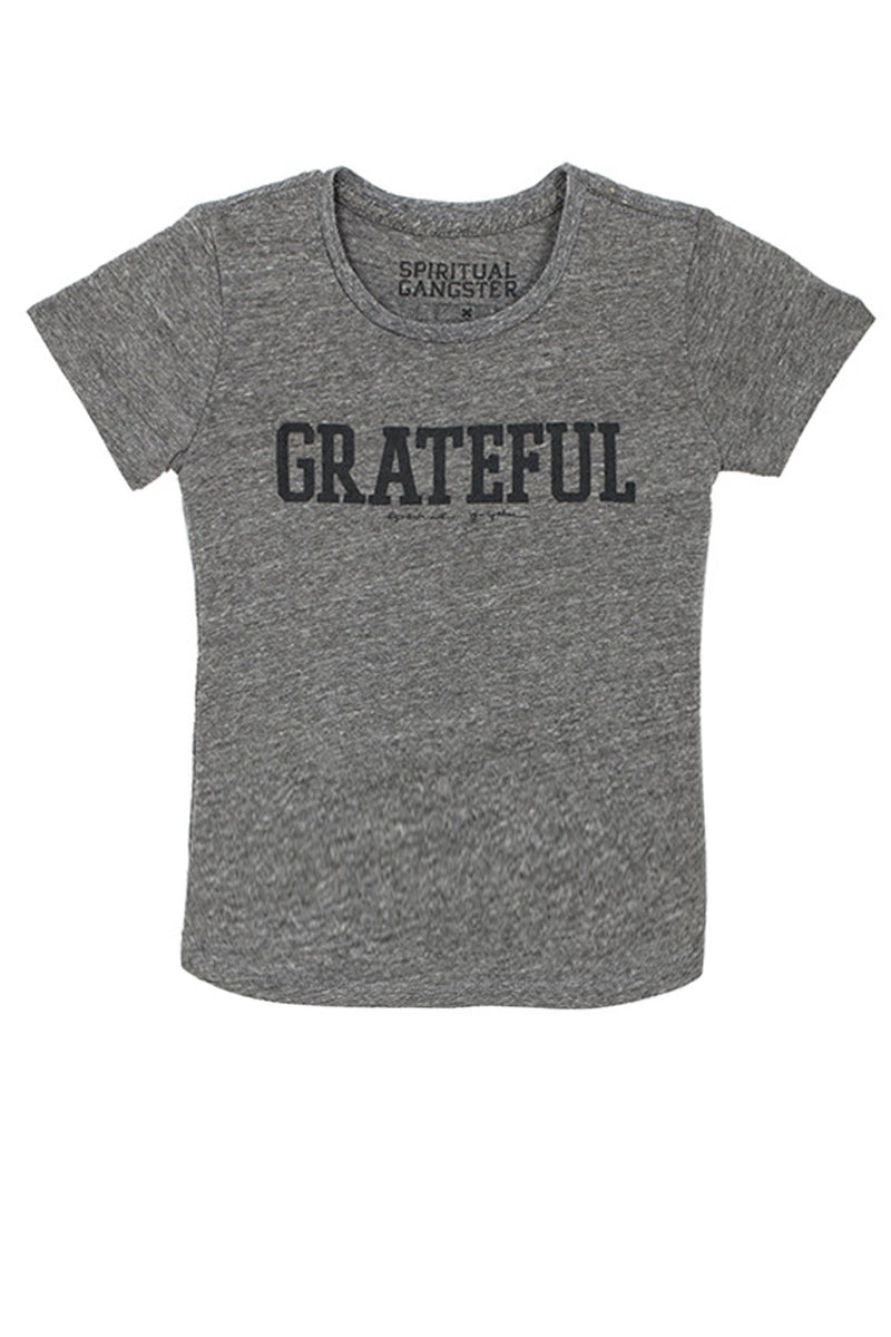GRATEFUL KIDS OLD SCHOOL TRIBLEND TEE (2T-6)
