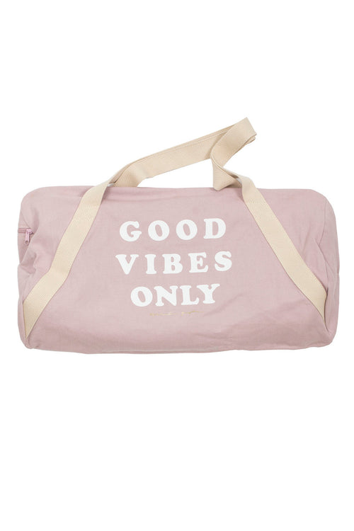 GOOD VIBES ONLY DUFFLE BAG - Spiritual Gangster