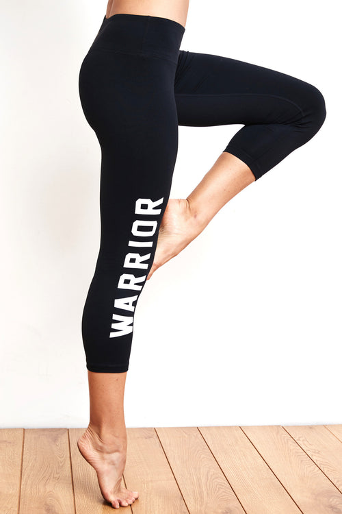 Warrior Power Crop Legging - Spiritual Gangster