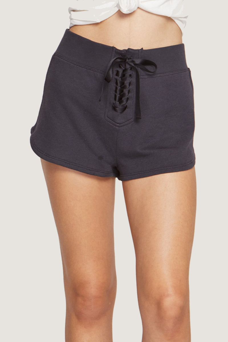 PEACE MODE SHORT VINTAGE BLACK