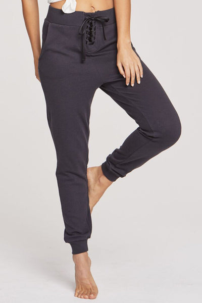 PEACE MODE PANT VINTAGE BLACK - Spiritual Gangster