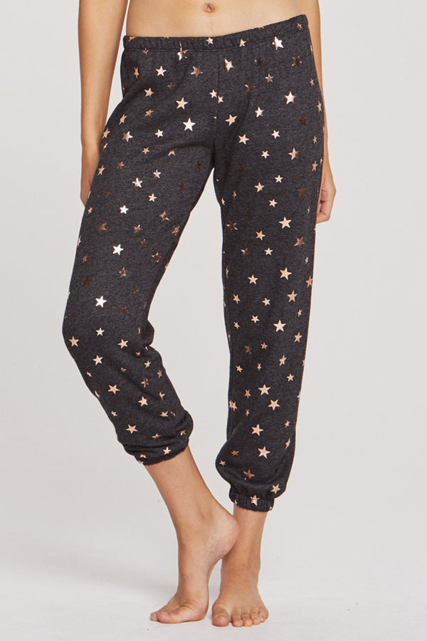 STARRY VIBES CROPPED SWEATPANT - Spiritual Gangster