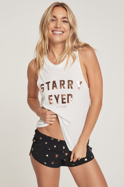 STARRY EYED MUSCLE TANK - Spiritual Gangster