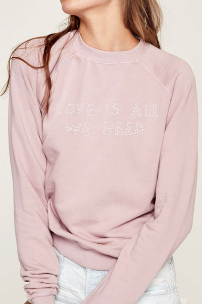 LOVE IS ALL WE NEED PULLOVER - Spiritual Gangster