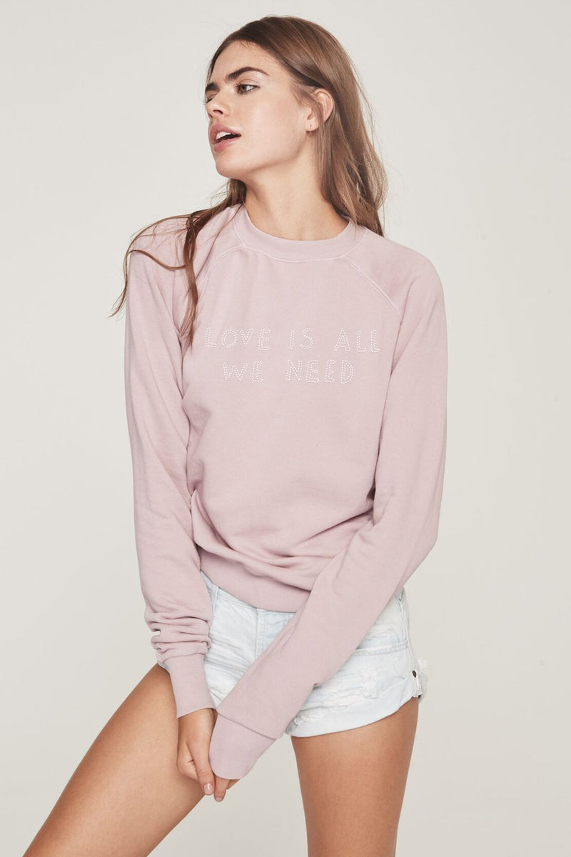 LOVE IS ALL WE NEED PULLOVER