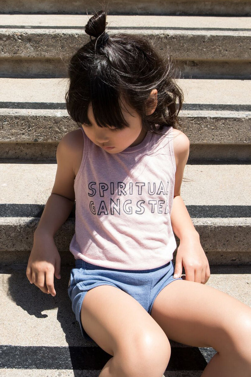 SPIRITUAL GANGSTER OUTLINE KIDS TANK