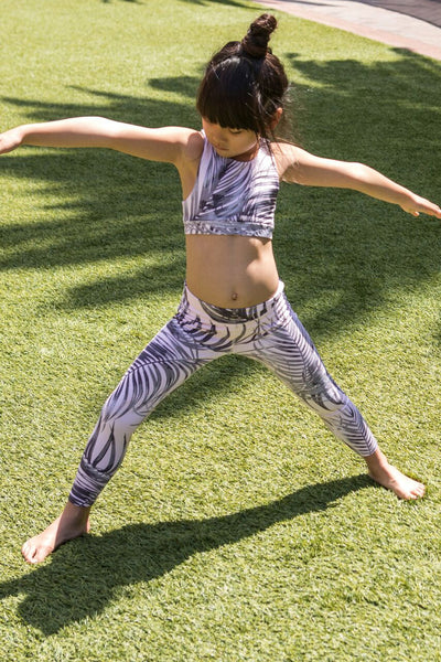SG KIDS ACTIVE BRALETTE PALM - Spiritual Gangster