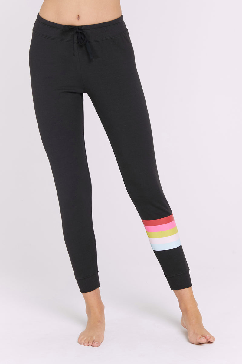 RAINBOW STRIPE MUSE PANT