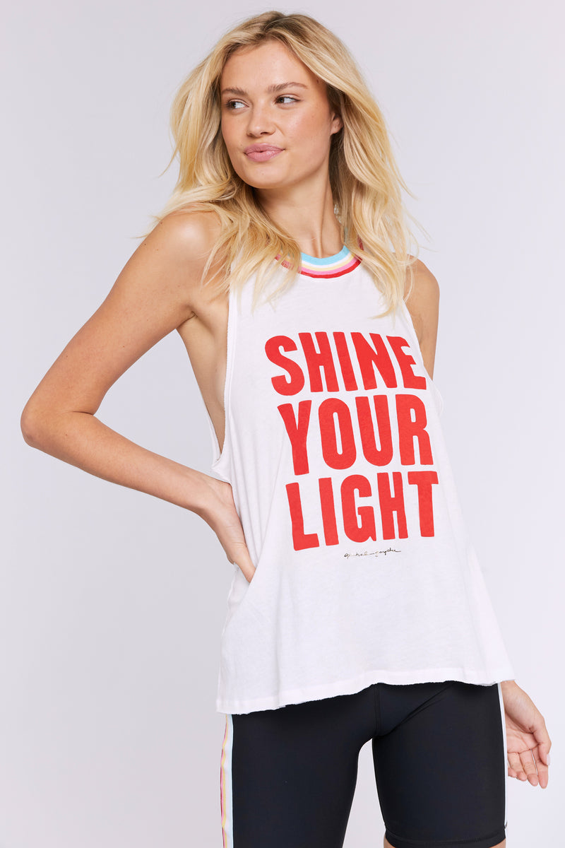 SHINE GIGI MUSCLE TANK