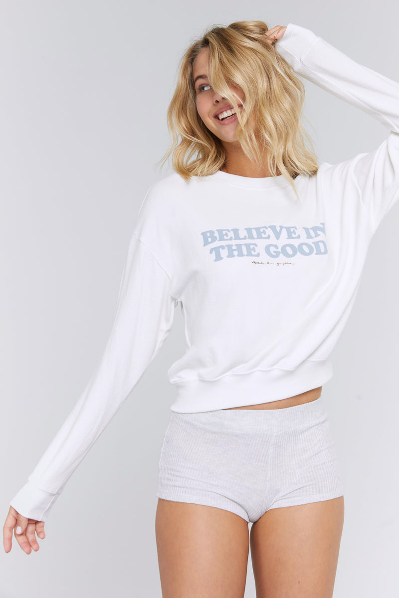BELIEVE IN THE GOOD HACCI PULLOVER