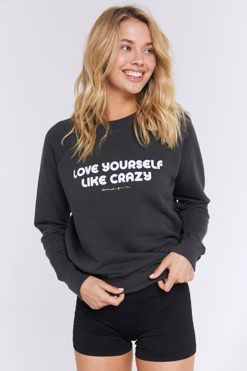 LOVE YOURSELF CLASSIC CREW SWEATSHIRT