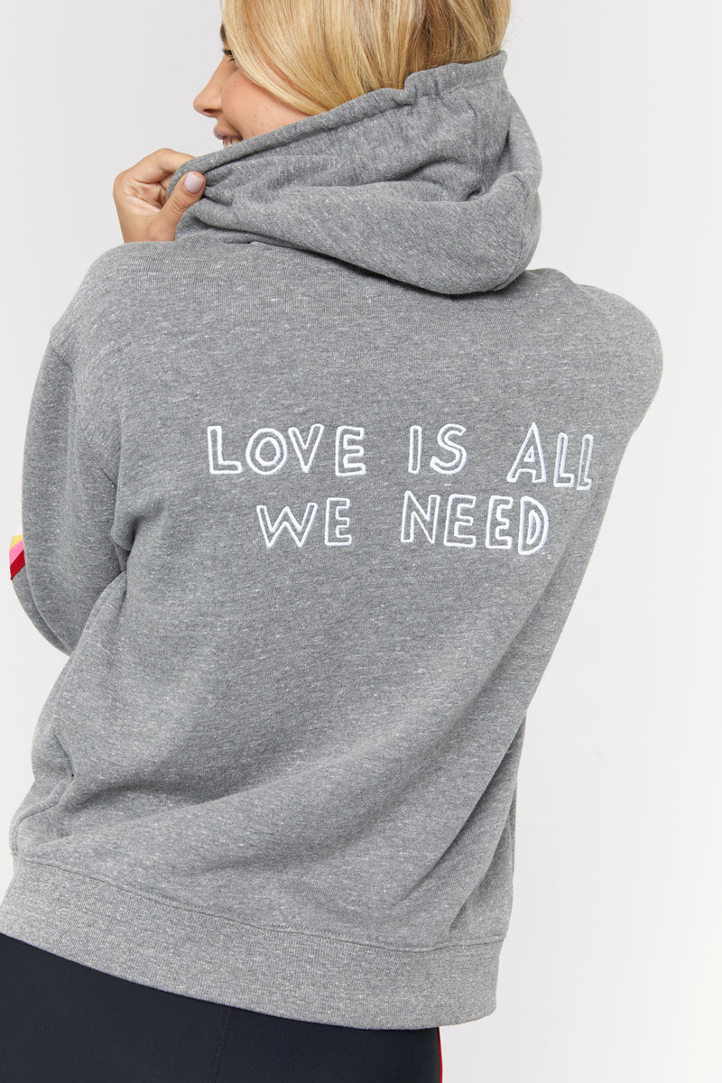 Love Is All We Need Riley Zip Hoodie