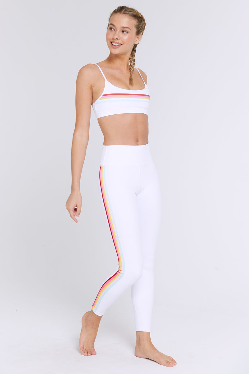 RAINBOW SCOOP SPORTS BRA