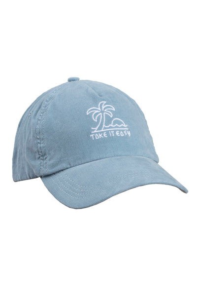TAKE IT EASY CORDUROY DAD HAT - Spiritual Gangster