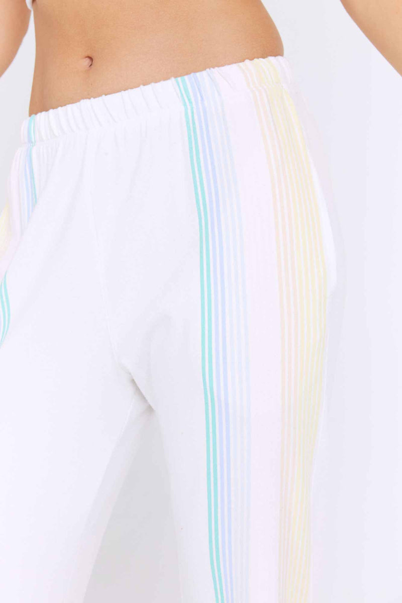 Stripe Malibu Nights Hacci Sweatpant