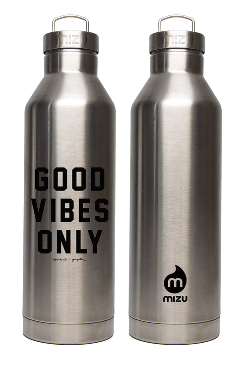 Good Vibes Only Water Bottle - Spiritual Gangster