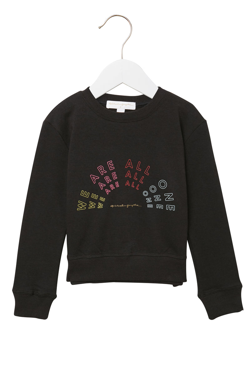 WE ARE ALL ONE KIDS SWEATSHIRT