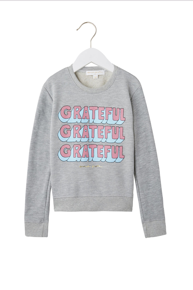 GRATEFUL STACKED SWEATSHIRT