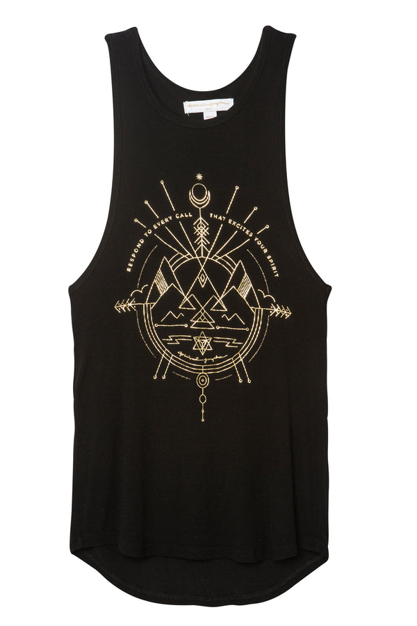 EXCITE YOUR SPIRIT RACERBACK TANK - Spiritual Gangster