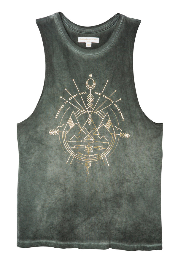 EXCITE YOUR SPIRIT ROCKER TANK - Spiritual Gangster