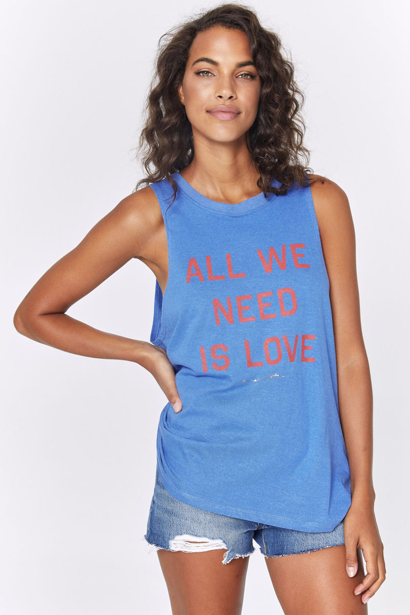 ALL WE NEED GIGI MUSCLE TANK